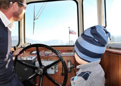 Schifffahrt am Attersee