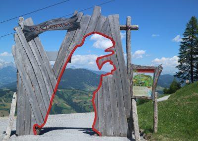 Eingang zum Drachenweg