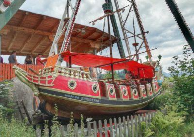 Familienland Pillersee - die Piratenschaukel