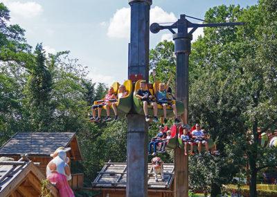 Der Almjodler im Familypark im Burgenland