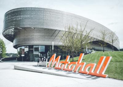 Die KTM Motohall in Mattighofen