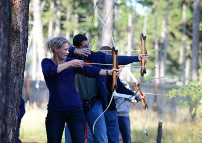 Spaß für die ganze Familie: Bogenschießen