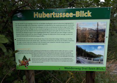 Der Hubertus-See-Blick
