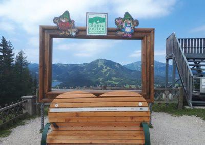 Die Mariazeller Bürgeralpe in der Steiermark bietet ein tolles Panorama