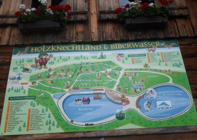 Das Holzknechtland und Biberwasser auf der Bürgeralpe in Mariazell