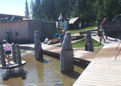 Wasser trifft auf Spaß