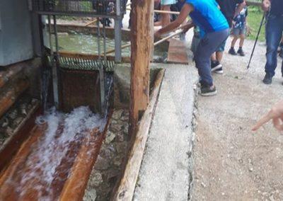 Kinder können hier ausprobieren und Wasserspaß erleben