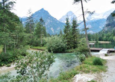 Natur, Ruhe und dennoch ein toller Platz für Kinder ist der Schiedeweiher in Hinterstoder