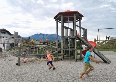 Ein schöner Spielplatz in St. Wolfgang im Salzkammergut