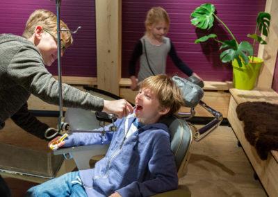 Die Zahnklinik in der Zotter Erlebniswelt. Credit: Jacqueline Jud/Zotter Schokoladen