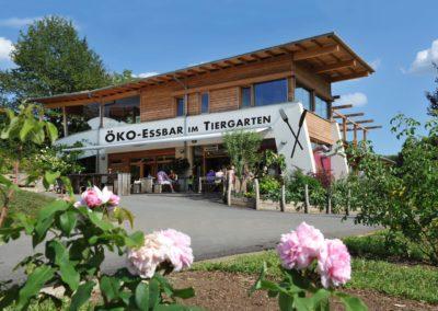 Das Öko-Restaurant in der Zotter Erlebniswelt. Credit: Zotter Schokoladen