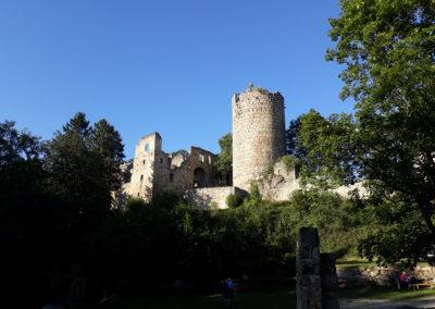 Ein Highlight für Kinder: die Burgruine Prandegg
