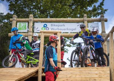 Der Bikepark am Wurbauerkogel
