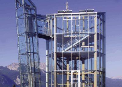 Der Panoramaturm am Wurbauerkogel