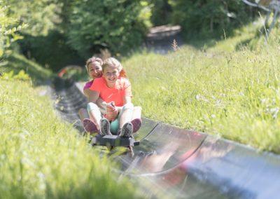 Die Sommerrodelbahn am Wurbauerkogel ist das absolute Highlight.