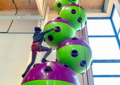 Der Astrotower im Indoor Adventure Park Parndorf