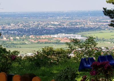 Toller Ausblick über Niederösterreich.