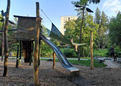 Der Dschungelspielplatz in Vöcklabruck