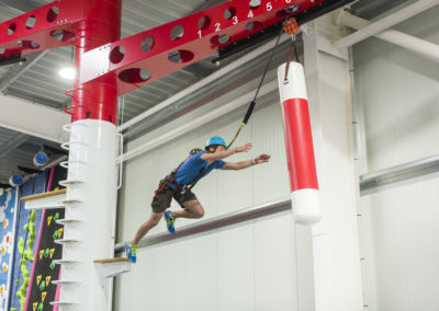 Ganz Mutige wagen den Airjump im Adventure Park Pandorf