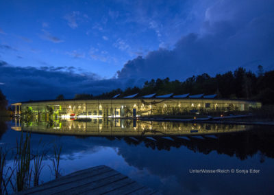 Das Unterwasserreich in Schrems in Niederösterreich