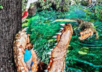 3D PicArt-Museum_Krokodile