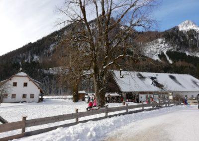 Das Polsterstüberl hat auch im Winter geöffnet.