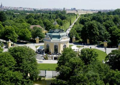 Der Tiergarten Schönbrunn ist einer der wohl schönsten Parks in Österreich