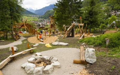 Großer Abenteuerspielplatz in Oetz