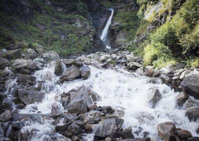 Beeindruckend: der Wasserfall
