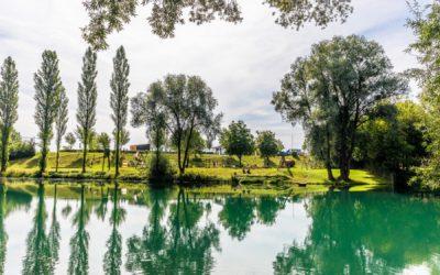 Schöner Spielplatz in Au an der Donau