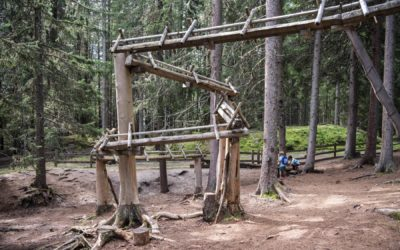 Die Bergerlebniswelt Kugelwald am Glungezer