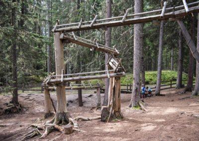 Die Kugelbahn im Kugelwald
