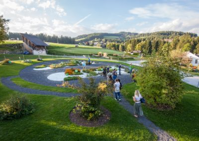 Der Kräutergarten im Kräftereich St. Jakob am Walde