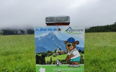 Die Minigolf-Wanderung in Vorderstoder