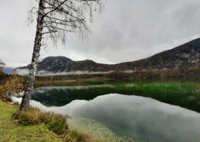 Ein tolles Panorama bietet das Ausflugsziel Almsee