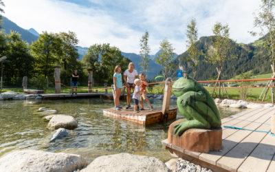 """Der Erlebnisspielplatz """"Auenland Sidan"""" im Zillertal"""
