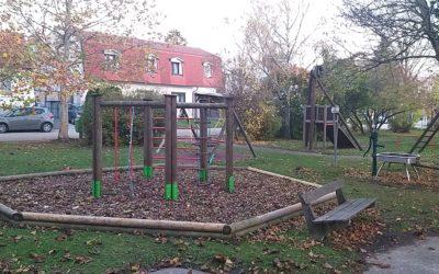 Netter Spielplatz in Mühlleiten bei Groß-Enzersdorf